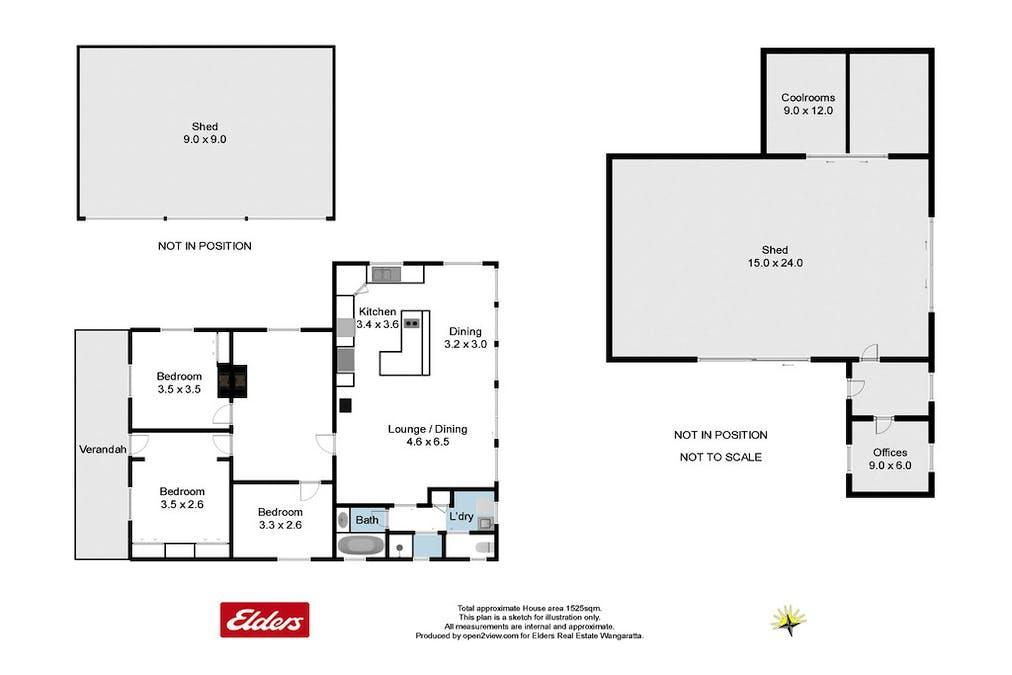 562 Jones Road, Wangaratta, VIC, 3677 - Floorplan 1
