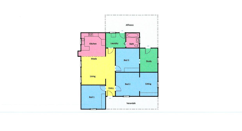 59 Moore Street, Ararat, VIC, 3377 - Floorplan 1