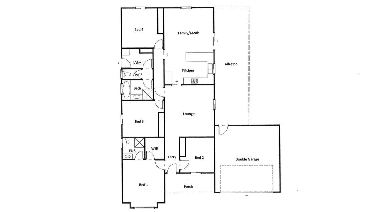 6 Redgum Drive, Ararat, VIC, 3377 - Floorplan 1