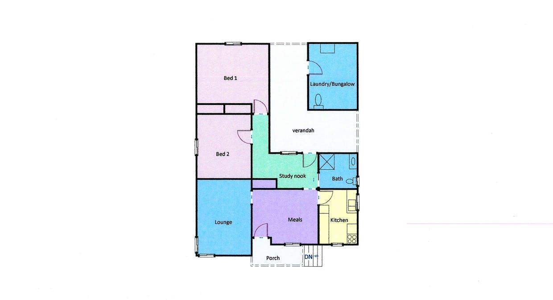 17 Wilmot Street, Ararat, VIC, 3377 - Floorplan 1