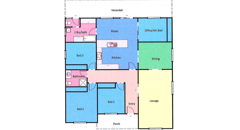 9 Henderson Street, Ararat, VIC, 3377 - Floorplan 1