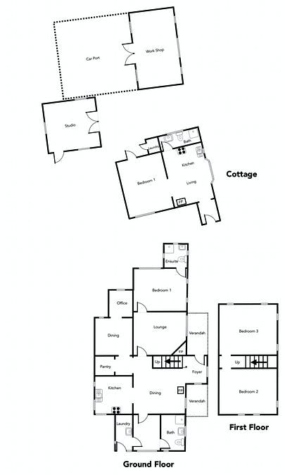 248 Nowhere Creek Road, Nowhere Creek, VIC, 3469 - Floorplan 1