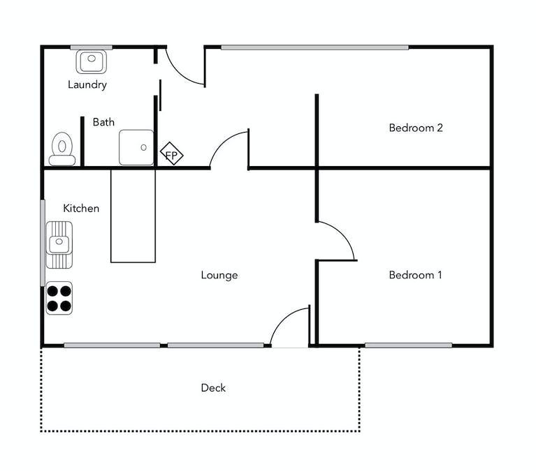 30 High Road, Halls Gap, VIC, 3381 - Floorplan 1