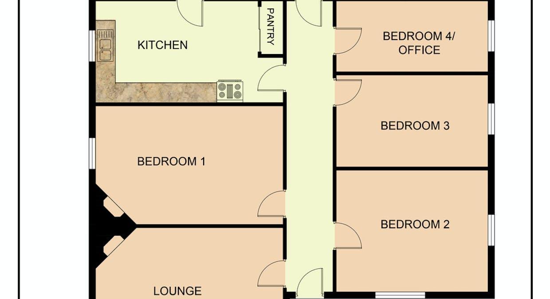 24 Dawson Street, Ararat, VIC, 3377 - Floorplan 1