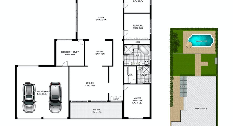 43 Highland Avenue, Bankstown, NSW, 2200 - Floorplan 1