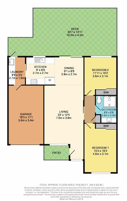 20/30 Jerry Bailey Road, Shoalhaven Heads, NSW, 2535 - Floorplan 1