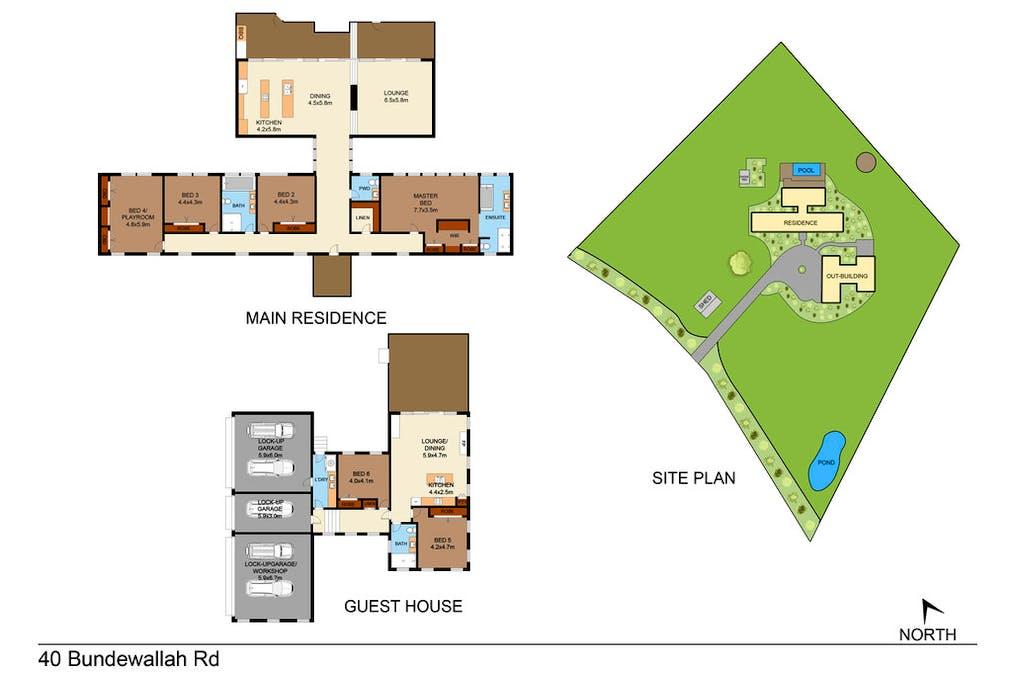 40 Bundewallah Rd, Berry, NSW, 2535 - Floorplan 1