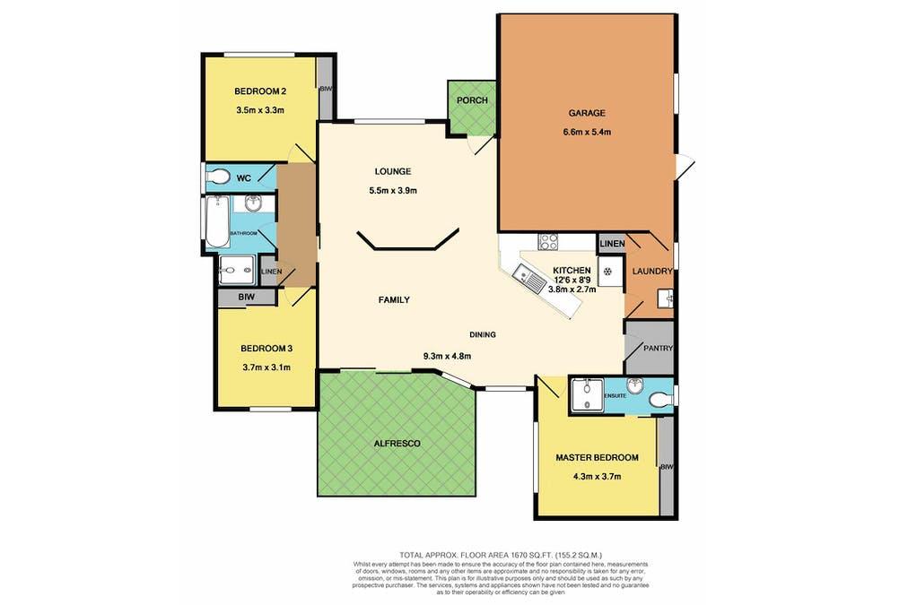13 Magnolia Grove, Bomaderry, NSW, 2541 - Floorplan 1