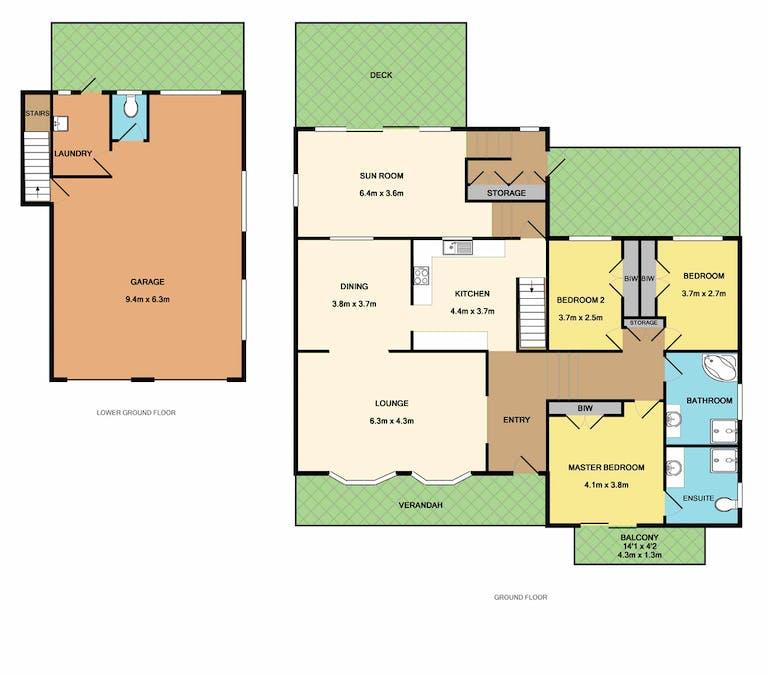 14 Windsor Drive, Berry, NSW, 2535 - Floorplan 1