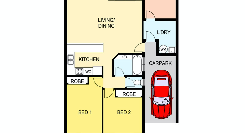 5/12 Links Road, Marrara, NT, 0812 - Floorplan 1