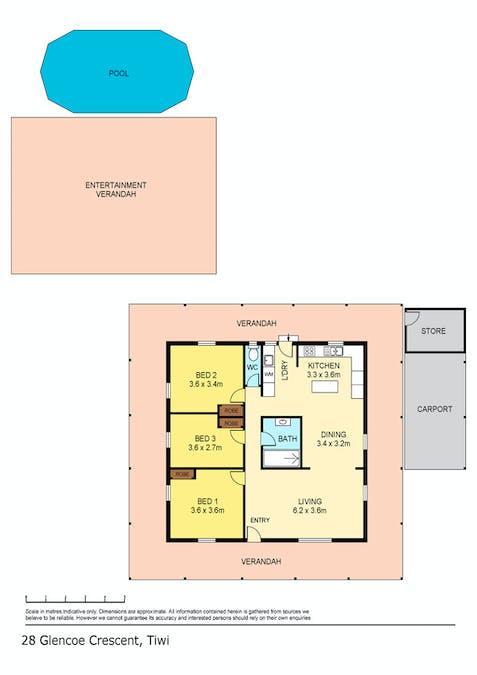28 Glencoe Crescent, Tiwi, NT, 0810 - Floorplan 1