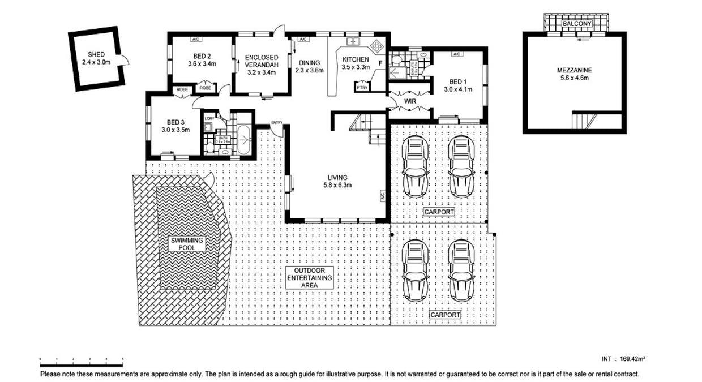 16 Kurrajong Crescent, Nightcliff, NT, 0810 - Floorplan 1