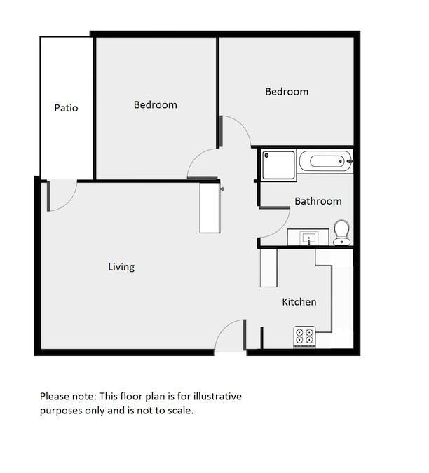 2/10 Smith Street, Dubbo, NSW, 2830 - Floorplan 1