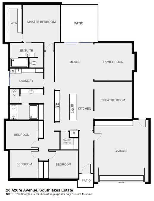 20 Azure Avenue, Dubbo, NSW, 2830 - Floorplan 1