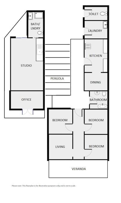 120 Fitzroy Street, Dubbo, NSW, 2830 - Floorplan 1