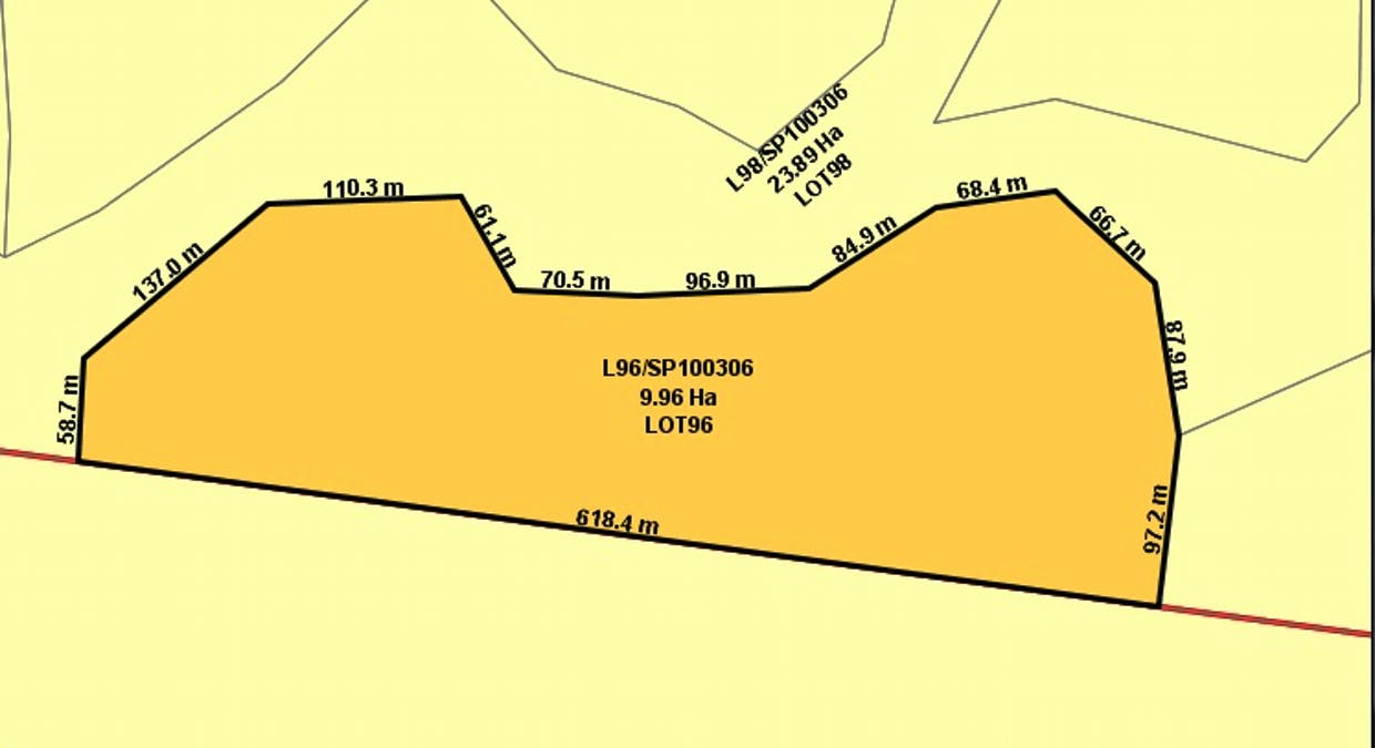 Lot 96 Booroo Rd., O'connell, QLD, 4680 - Image 1
