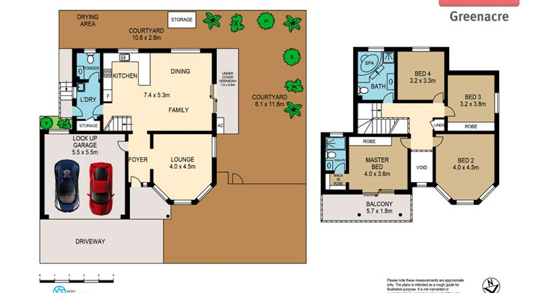 106 Chiswick Road, Greenacre, NSW, 2190 - Floorplan 1
