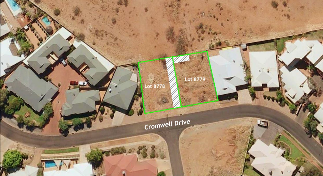 144 and 146 Cromwell Drive, Desert Springs, NT, 0870 - Image 1