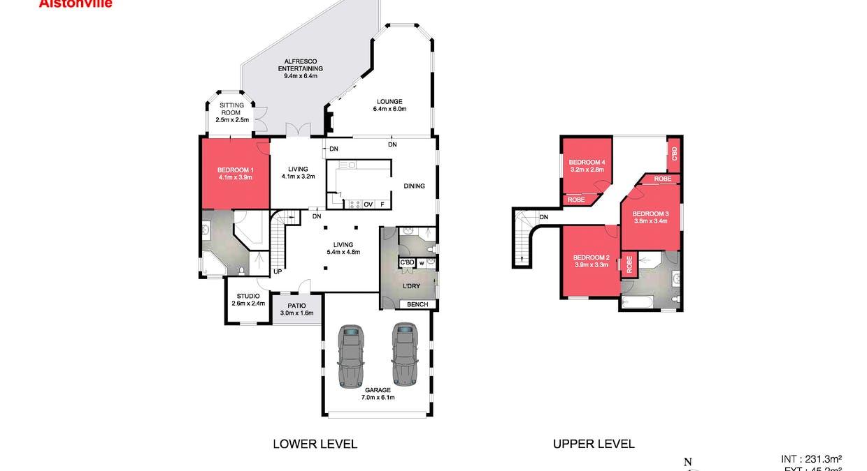 64 Adele Street, Alstonville, NSW, 2477 - Floorplan 1