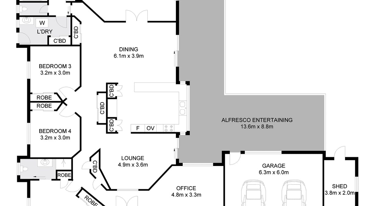 13 Dalmacia Drive, Wollongbar, NSW, 2477 - Floorplan 1