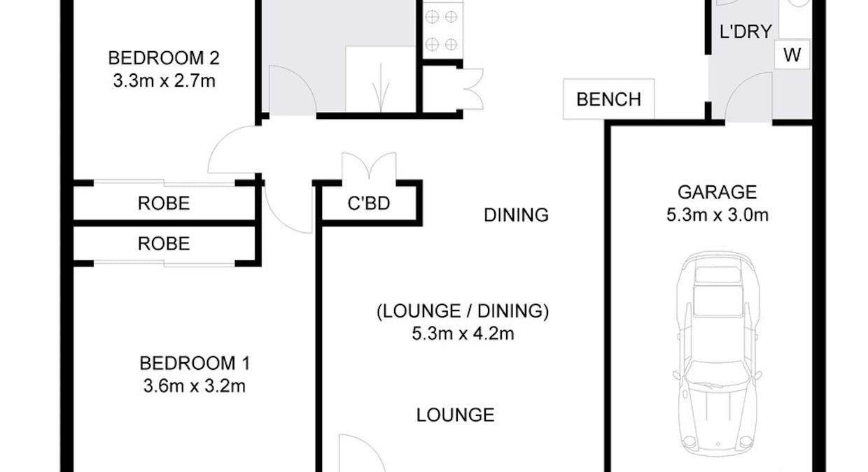 2/28 Norvell Grove, Alstonville, NSW, 2477 - Floorplan 1