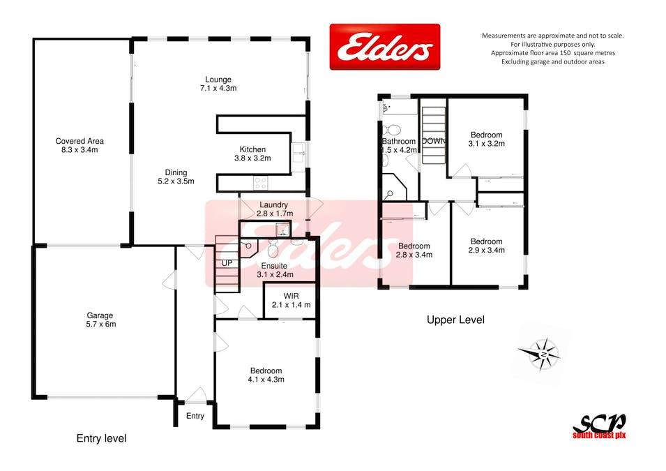 2/16 Henry Place, Long Beach, NSW, 2536 - Floorplan 1