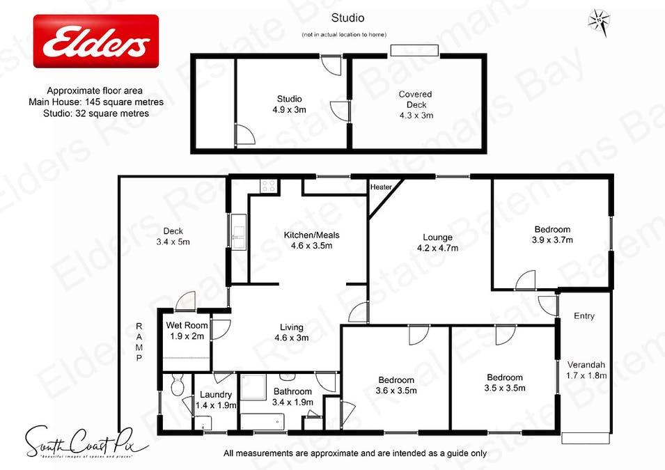 24 Page Street, Moruya, NSW, 2537 - Floorplan 1