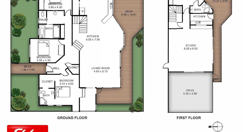 1 Corlis Crescent, Bangalow, NSW, 2479 - Floorplan 1