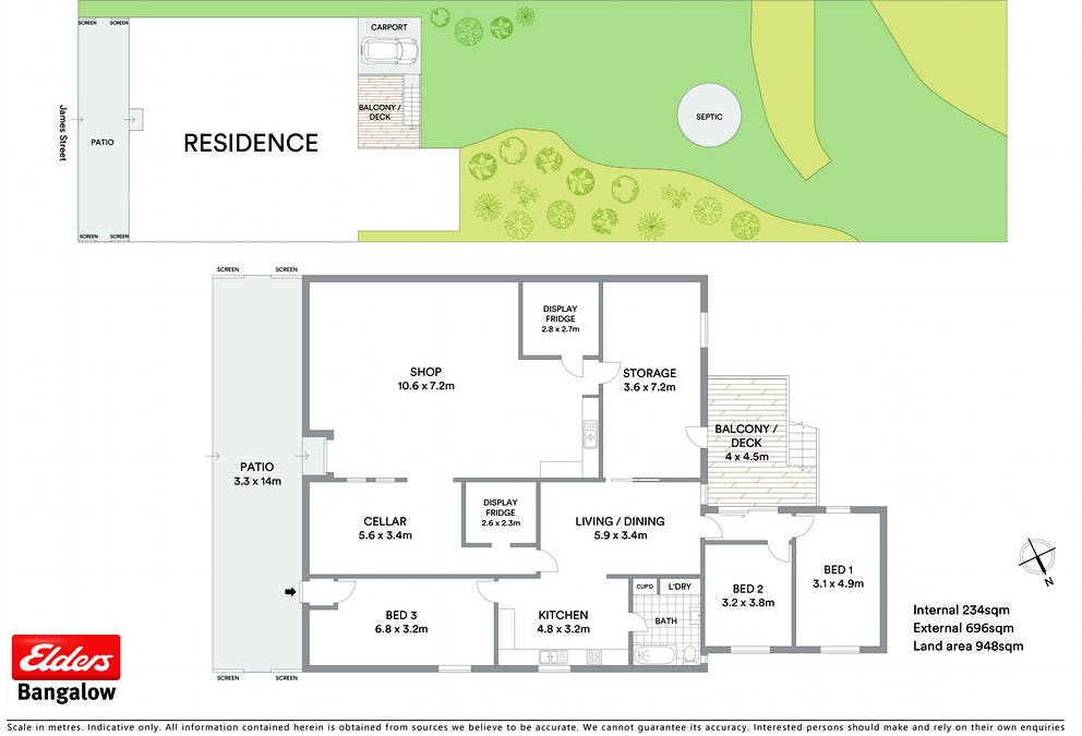 88 James Street, Dunoon, NSW, 2480 - Floorplan 1