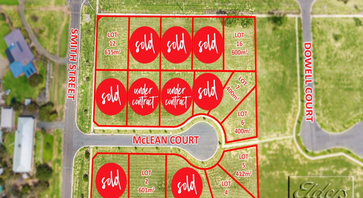 Lots 1-16 (136-144) Hervey St, Smith St And Mclean Crt, Elmore, VIC, 3558 - Image 1