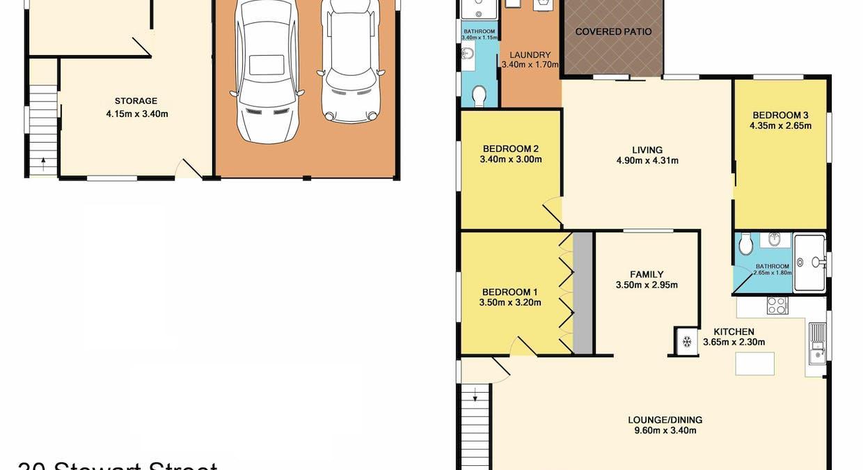 30 Stewart Street, Crescent Head, NSW, 2440 - Floorplan 1