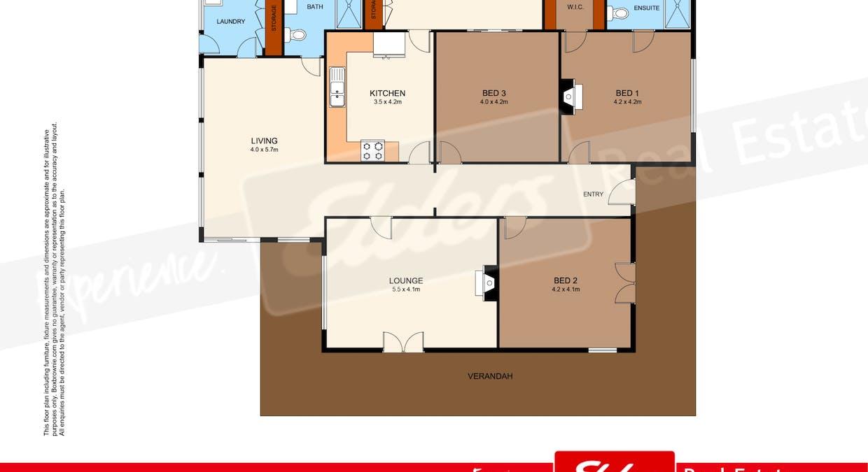 171 Old Kia Ora Road 'bronora', Gloucester, NSW, 2422 - Floorplan 1