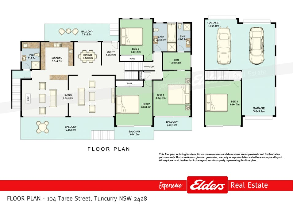 104 Taree Street, Tuncurry, NSW, 2428 - Floorplan 1
