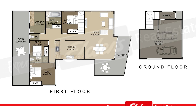 37 Leguna Crescent, Forster, NSW, 2428 - Floorplan 1