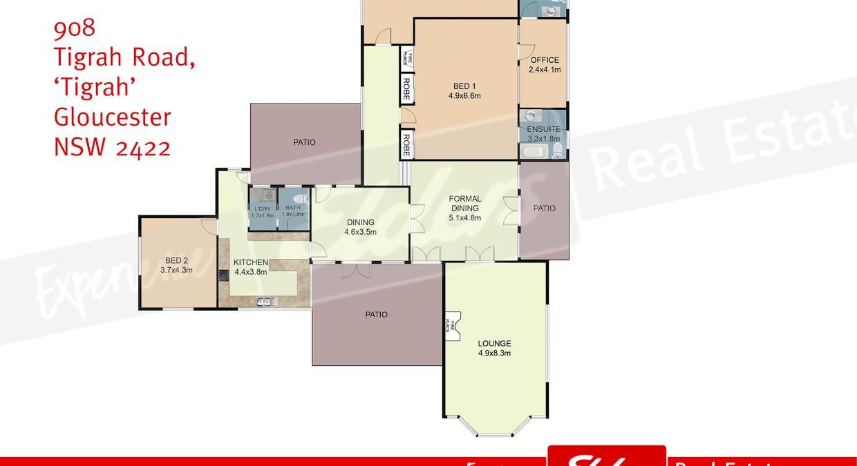 918 Tigrah Road 'Tigrah', Gloucester, NSW, 2422 - Floorplan 1
