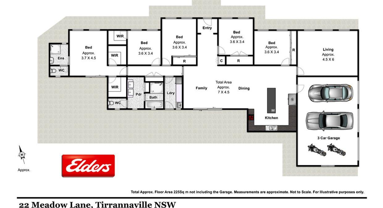 22 Meadow Lane, Goulburn, NSW, 2580 - Floorplan 1