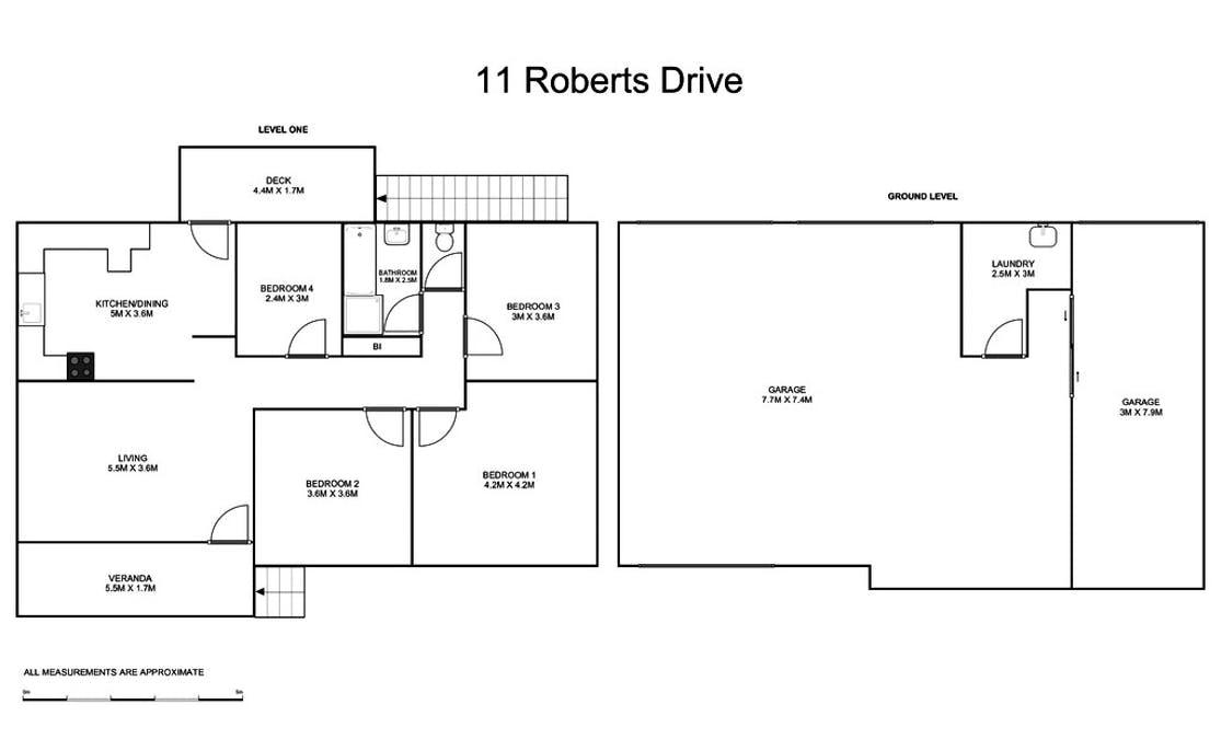 11 Roberts Drive, South Grafton, NSW, 2460 - Floorplan 1
