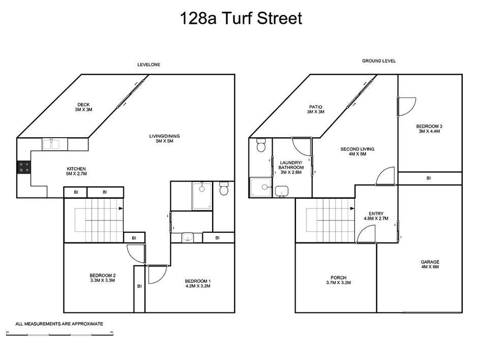3/128a Turf Street, Grafton, NSW, 2460 - Floorplan 1
