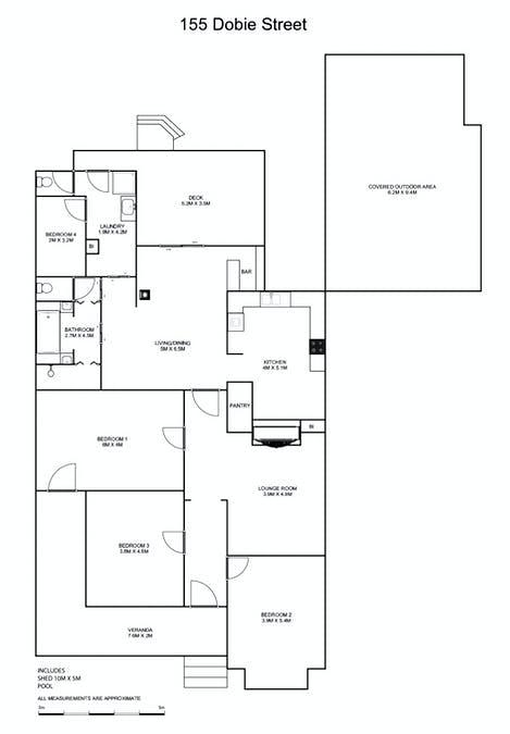 155 Dobie Street, Grafton, NSW, 2460 - Floorplan 1