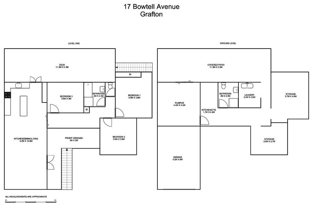17 Bowtell Avenue, Grafton, NSW, 2460 - Floorplan 1