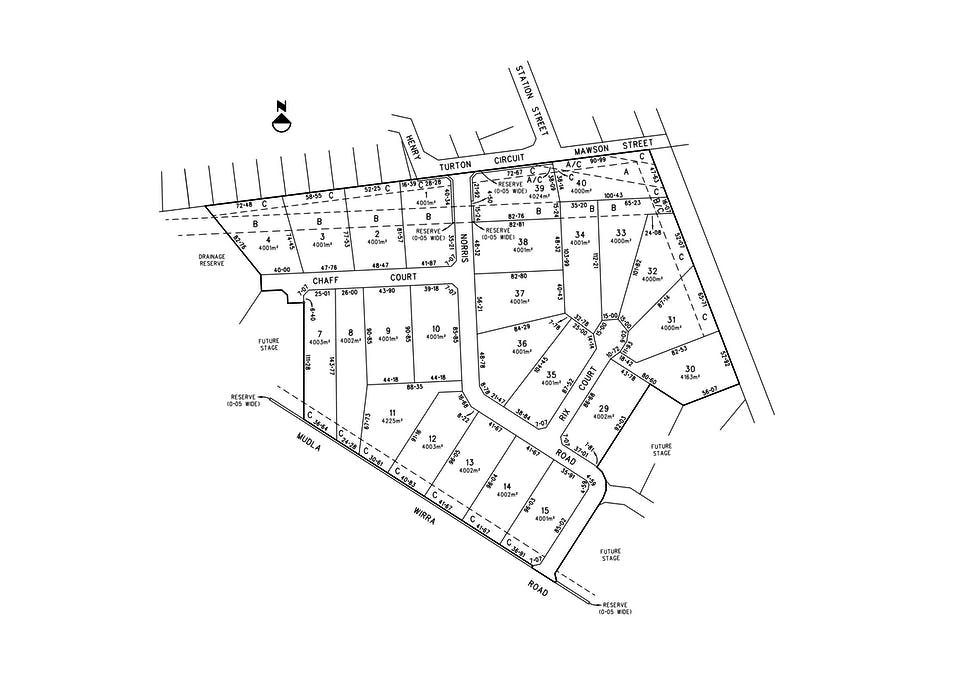 WASLEYS FIELDS Estate Off Henry Turton Circuit, Wasleys, SA, 5400 - Floorplan 1