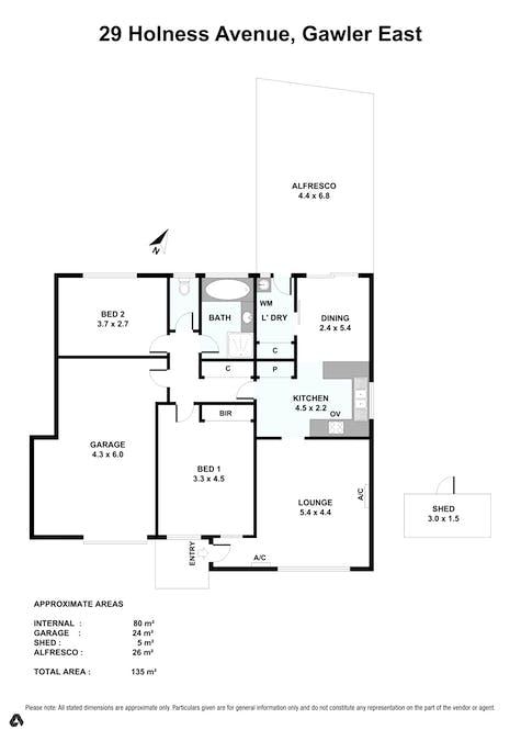 29 Holness Avenue, Gawler East, SA, 5118 - Floorplan 1