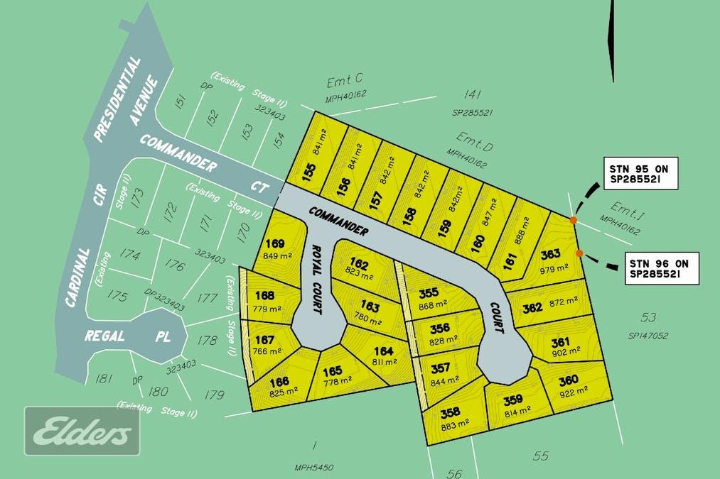 Lot 357 Commander Crt, Jones Hill, QLD, 4570 - Floorplan 1