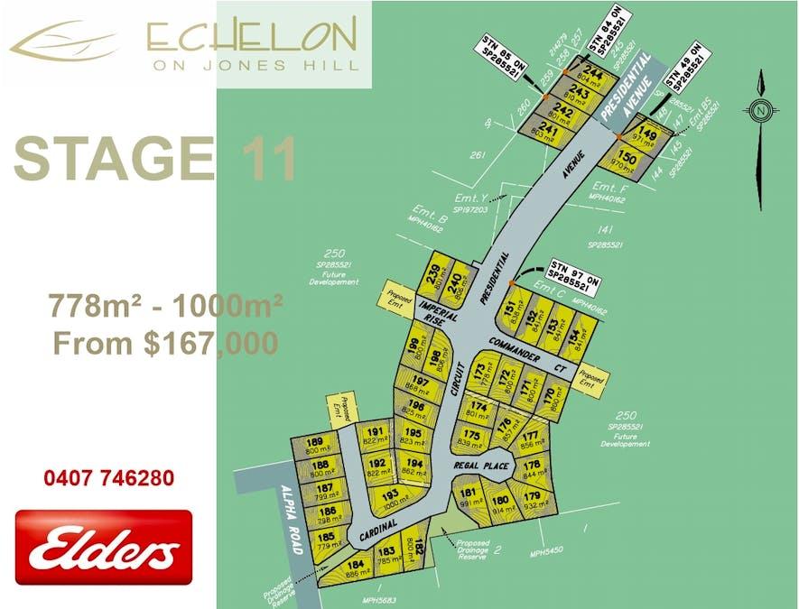 Lot 241 Presidential Ave, Jones Hill, QLD, 4570 - Floorplan 1