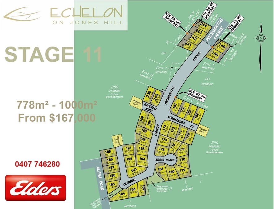 Lot 242 Presidential Ave, Jones Hill, QLD, 4570 - Floorplan 1