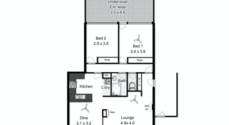 3 Lisa Court, Pennington, SA, 5013 - Floorplan 1