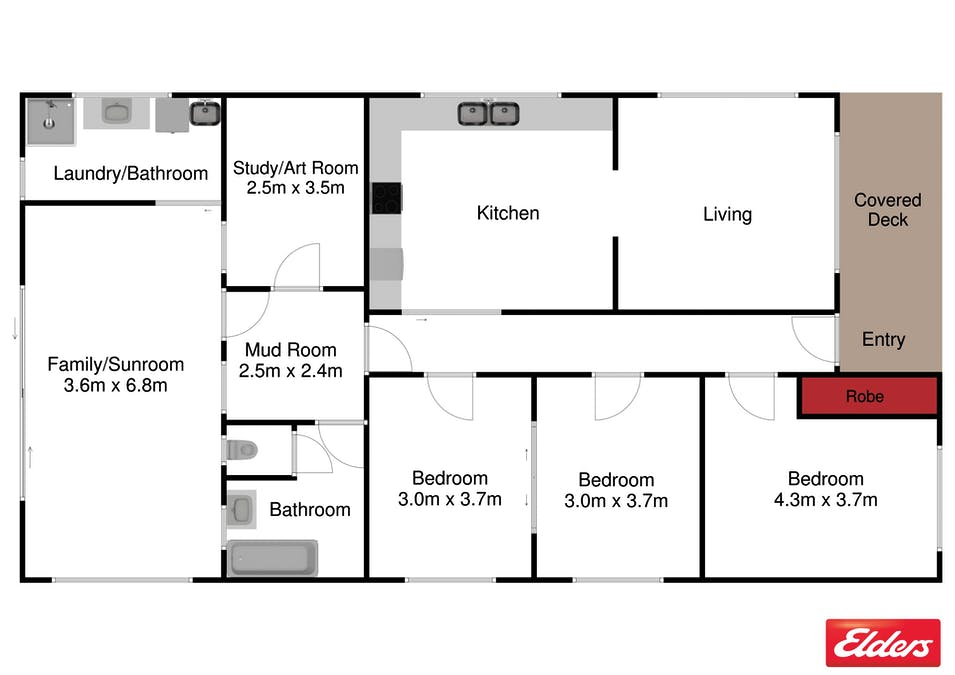 380 Ameys Track, Foster, VIC, 3960 - Floorplan 1