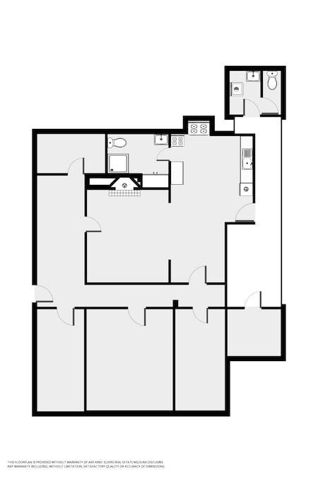 91 Cemetery Road, Pooncarie, NSW, 2648 - Floorplan 1