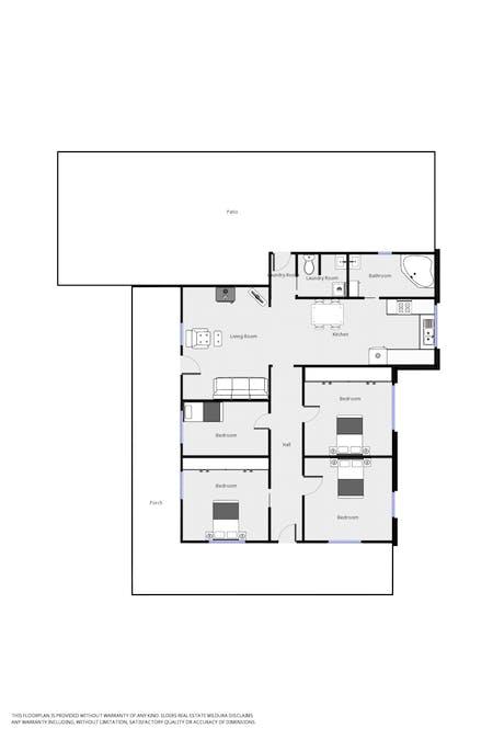 65 Farrell Street, Ouyen, VIC, 3490 - Floorplan 1