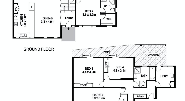 26 Hibiscus Crescent, Port Macquarie, NSW, 2444 - Floorplan 1